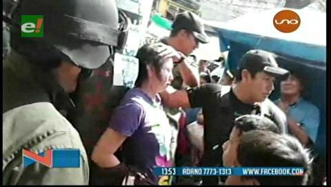 Mujer acuchilla a una comerciante en Los Pozos
