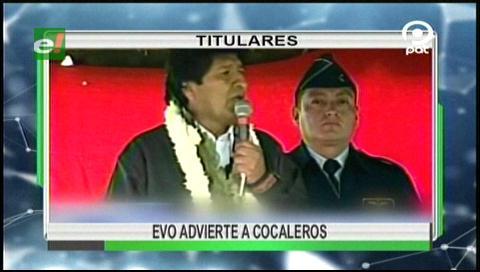 Video titulares de noticias de TV – Bolivia, noche del martes 18 de julio de 2017