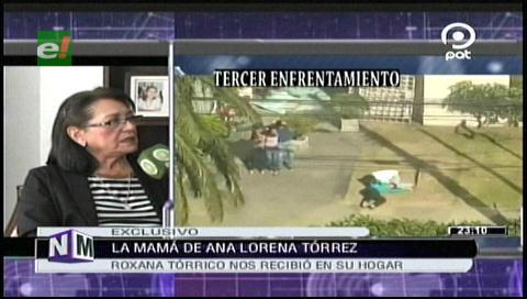 """""""Confié en la Policía y me defraudó"""": Roxana Torrico, madre de Lorena"""