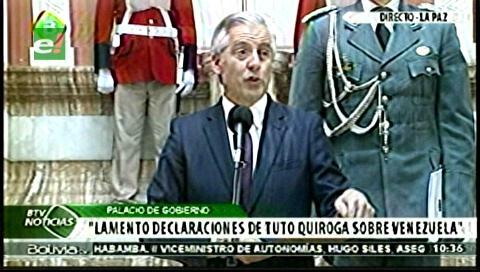 """Tuto es un """"badulaque, impostor"""", afirma el Vicepresidente"""