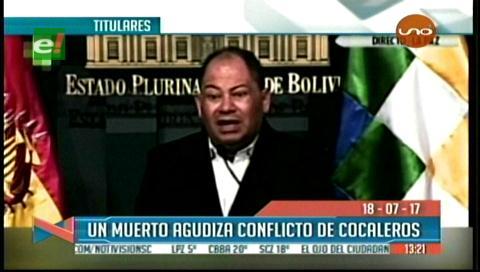 Video titulares de noticias de TV – Bolivia, mediodía del miércoles 19 de julio de 2017
