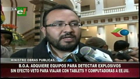 Sabsa compra tres escáners para detectar explosivos en aparatos electrónicos