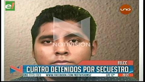 Detienen a cuatro personas acusadas de secuestro a menor