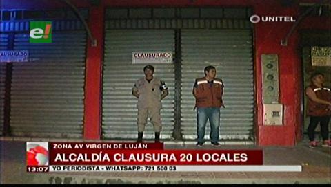 Santa Cruz: Clausuran 20 locales nocturnos