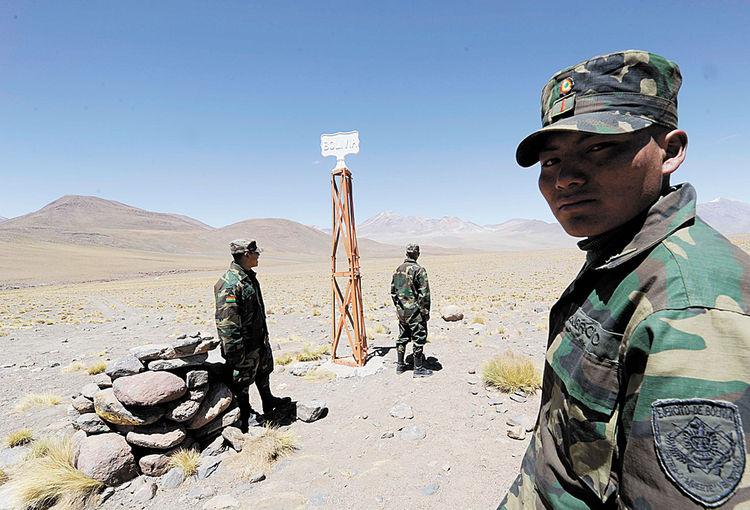 Resultado de imagen de patrullaje para control fronterizo EN BOLIVIA