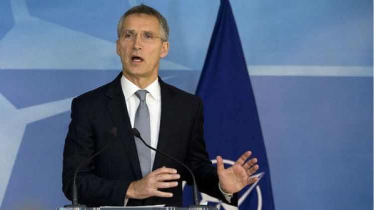 El secretario general de la OTAN, Jens Stoltenberg (AP)