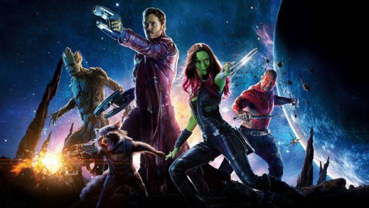 Guardianas de la Galaxia, una delas películas favoritas del menor