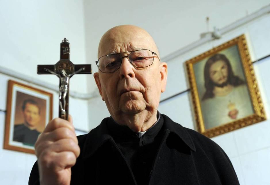 El padre Gabriele Amorth fue el exorcista oficial del Vaticano hasta su muerte el pasado septiembre.