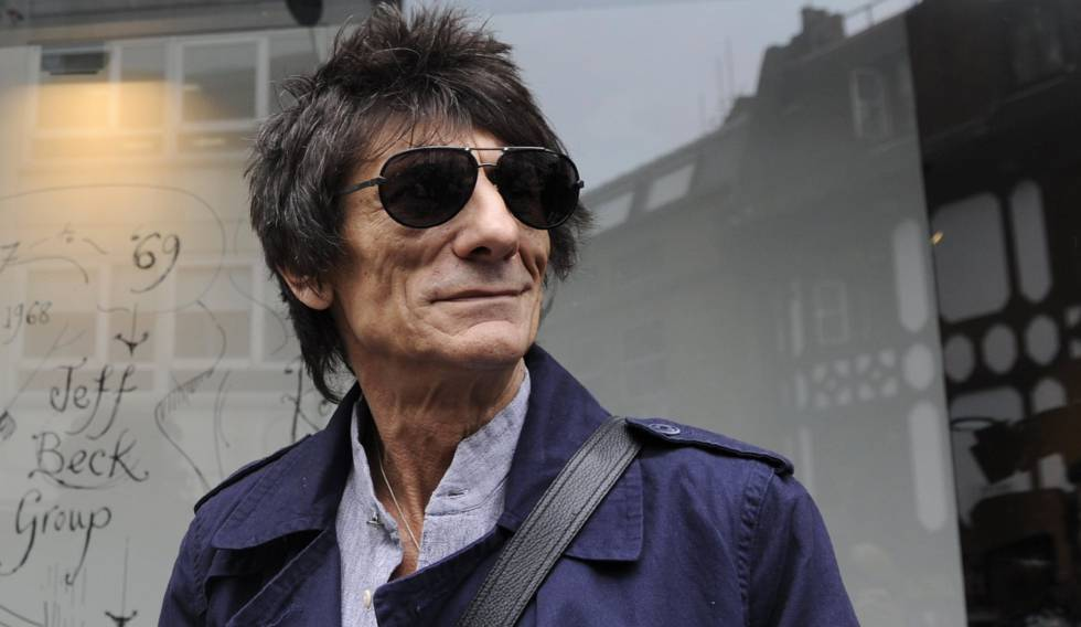 Ronnie Wood, en Londres en 2012.