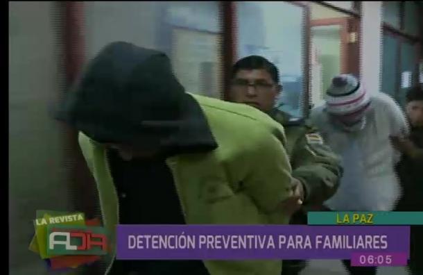 Detención preventiva para familiares de anciana abandonada