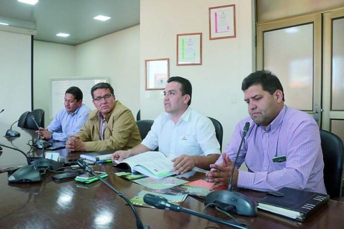 VIVIENDAS. Los directivos de CONCRETEC y FANCESA aseguran venta en Santa Cruz.