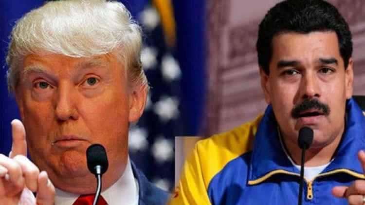 "Donald Trump tildó de ""dictador"" a Nicolás Maduro"