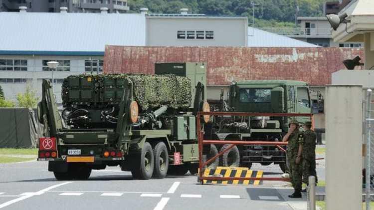 El ministerio de Defensa comenzó a desplegar el sistema de protección Patriot 3 (PAC-3) en Shimane, Hiroshima y Kochi, en el oeste de Japón (AFP)