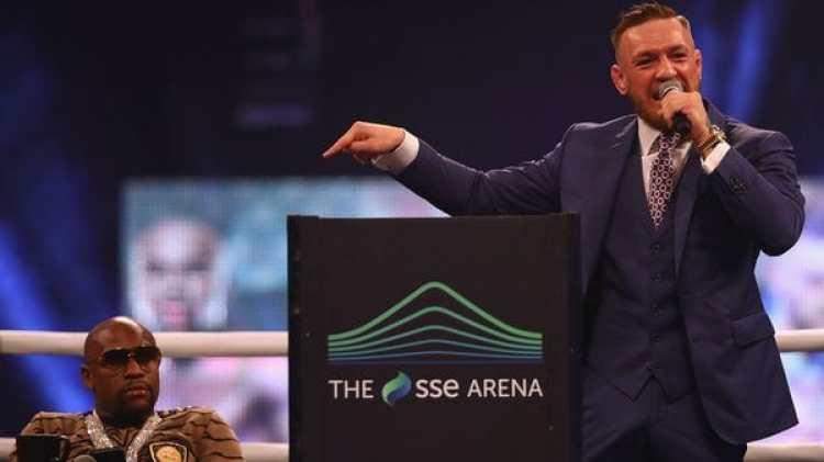 McGregor se ve ganador de cara al combate (Getty)