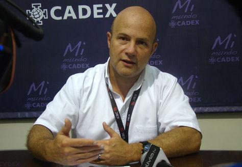 Osvaldo Barriga, presidente de la Cámara de Exportadores de Santa Cruz.