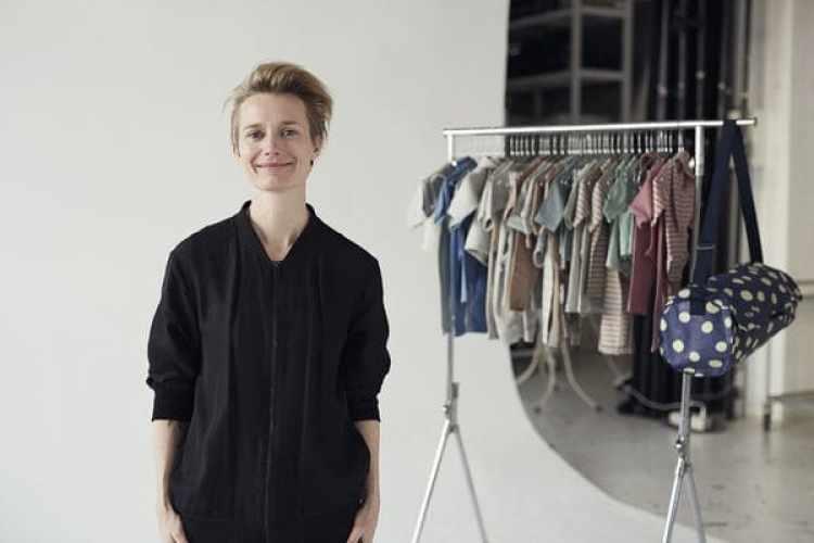 Vigga Svensson, creadora del emprendimiento para alquiler ropa de niños. (Daniel Stjerne/vigga.us)