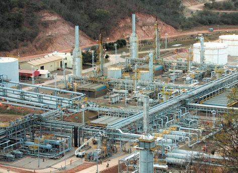 Los campos San Alberto y Sábalo productores de gas natural para exportación. Foto: AFKA - archivo
