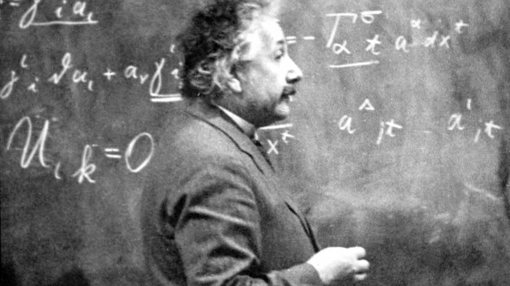 Foto: Albert Einstein tenía peculiares costumbres. (Cordon Press)