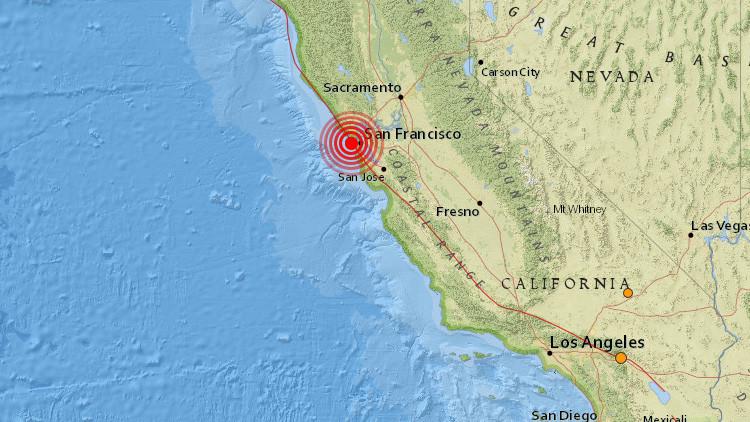 Un terremoto sacude San Francisco