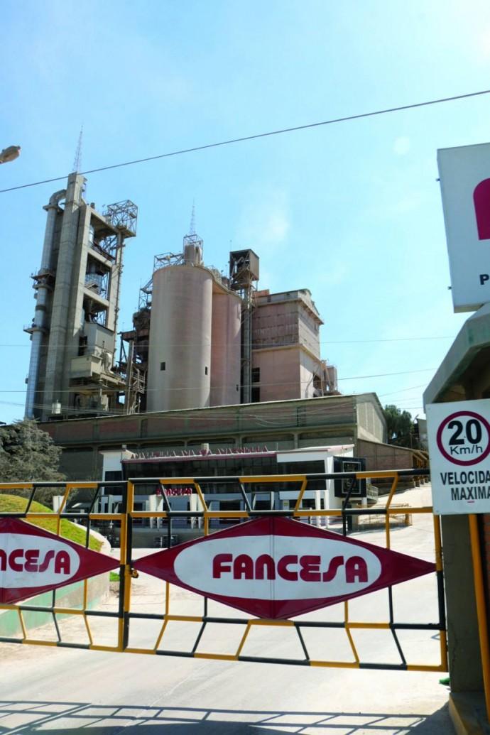 FÁBRICA. La cementera tendrá pérdidas por incremento en el costo del gas industrial.