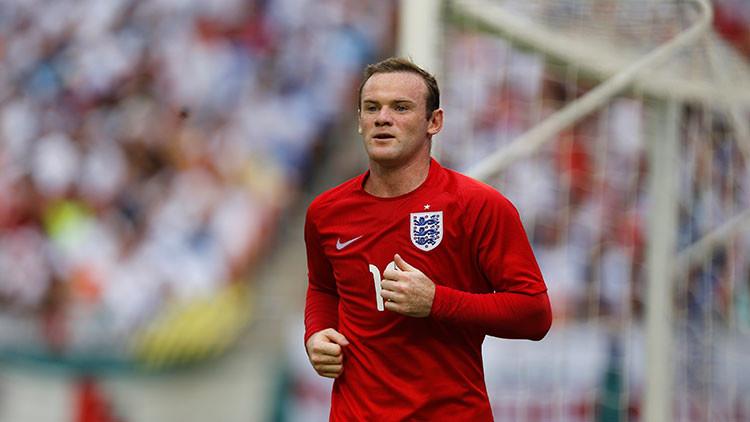 Wayne Rooney anuncia su retirada de la selección de Inglaterra