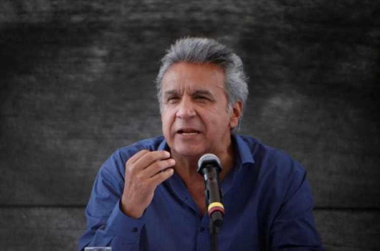 """El presidente de Ecuador, Lenin Moreno, advirtió que el país no toleraría violaciones de su """"soberanía marítima"""" (REUTERS)"""