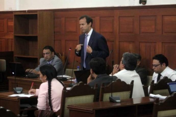 Jorge Quiroga es el único que participó en la fase preparatoria del juicio. Foto: Archivo