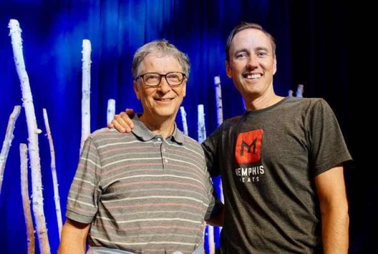Bill Gates y Steve Jurvetson, del fondo de inversiones DFJ, algunos de los que apostaron por Memphis Meats (DFJ Posts)