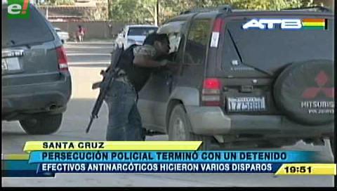 Detienen a un extranjero en operativo policial