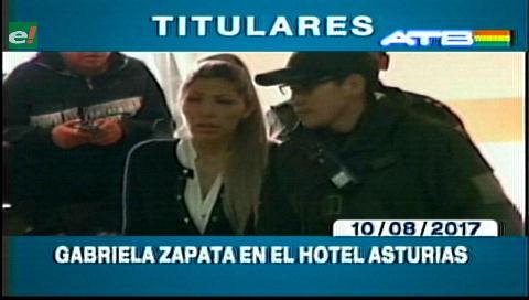 Video titulares de noticias de TV – Bolivia, noche del jueves 10 de agosto de 2017