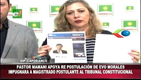 Elecciones judiciales: Impugnarán candidatura de Pastor Mamani