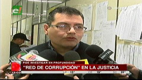 Piden investigar una supuesta red de corrupción detrás de Bohórquez