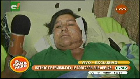 Mujer es víctima de violencia por rechazar a un pretendiente