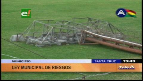 Municipio cruceño proyecta ley que regule edificaciones peligrosas