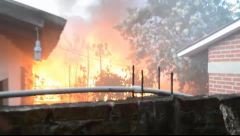 La Guardia: Corto circuito genera un incendio en el colegio Tomás José Morales