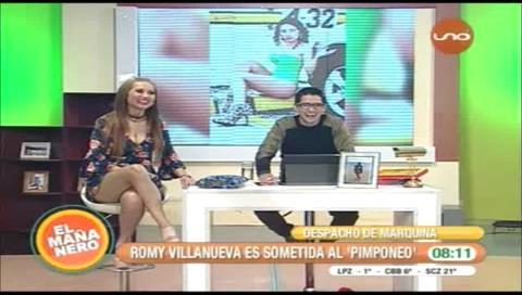 """Romy Villanueva: """"Mayté Flores es mi copia"""""""
