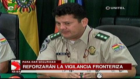 Santa Cruz: Policía reforzará las fronteras y operará en zonas rojas de la ciudad