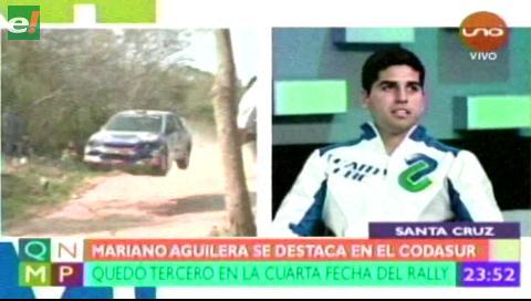 Mariano Aguilera mejor posicionado en el Codasur
