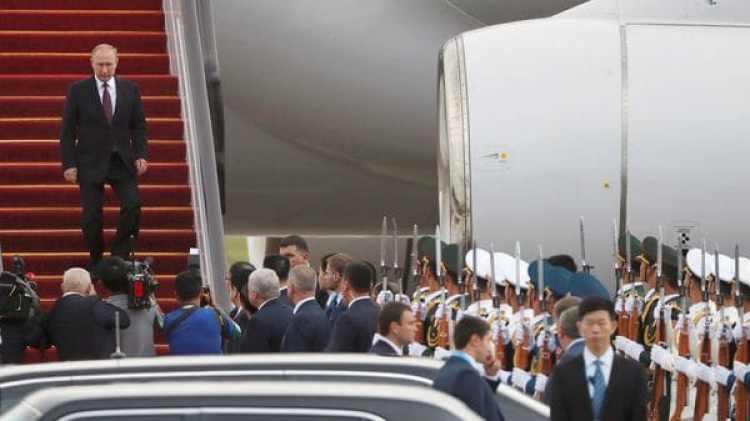 La llegada de Putin (Reuters)
