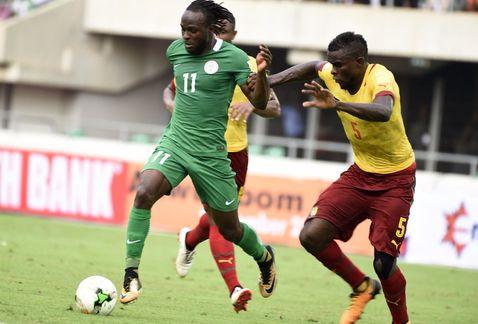 Camerún empata con Nigeria y se despide del Mundial de Rusia 2018
