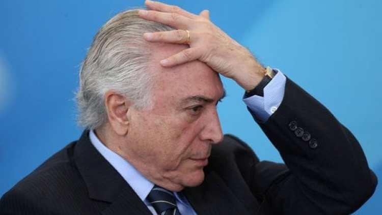 Michel Temer fue acusado de corrupción por ejecutivos de la frigorífica JBS(REUTERS)