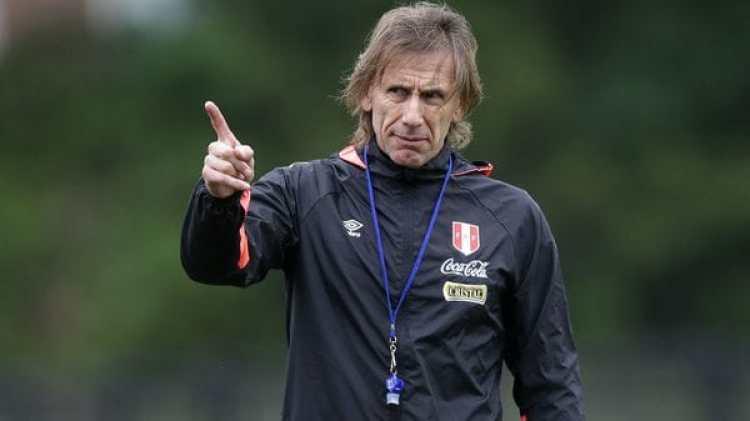 El argentino Ricardo Gareca es el técnico de la Selección de Perú