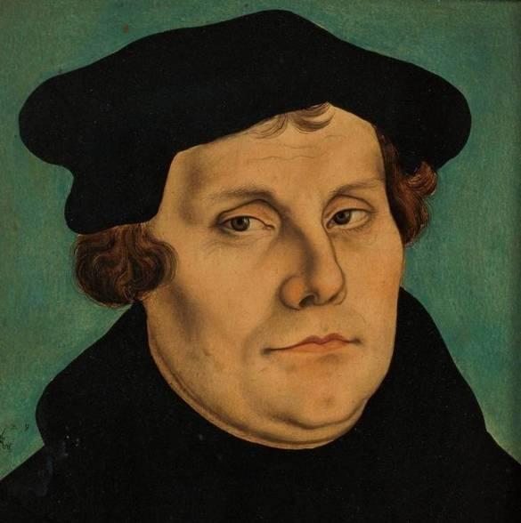 Martín Lutero. (Wikimedia Commons)