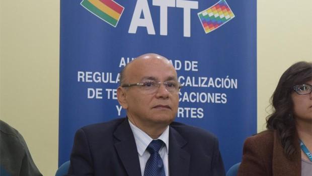 Resultado de imagen de El director de la Autoridad de Regulación y Fiscalización de Telecomunicaciones y Transportes (ATT), Roy Méndez