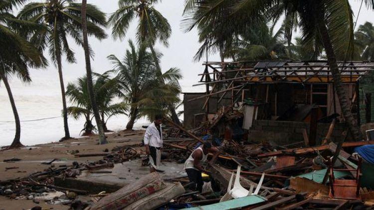 Nagua, en el norte de República Dominicana, fue una de las ciudades más afectadas por Irma (Reuters)
