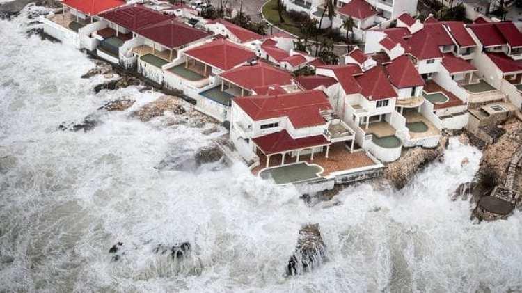 Así quedó St. Maarten luego del paso del huracán Irma. (Ministerio de Defensa Holandés/Reuters)