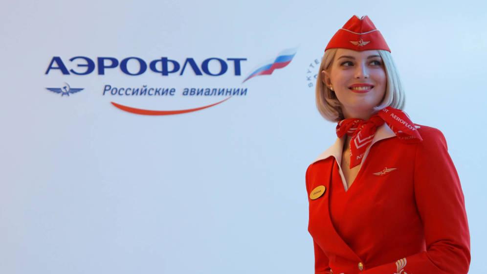 Foto: Una azafata modelo, según los estándares de Aeroflot. (Reuters)