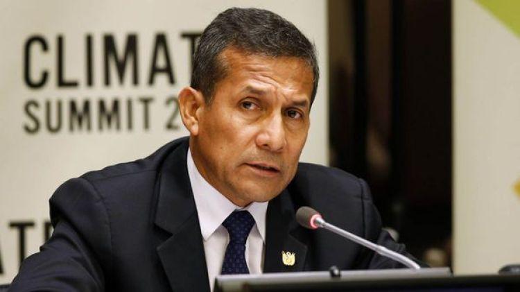 Ollanta Humala, ex presidente de Perú (AP)
