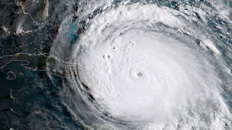 FOTOS: El enorme huracán Irma, visto desde el espacio