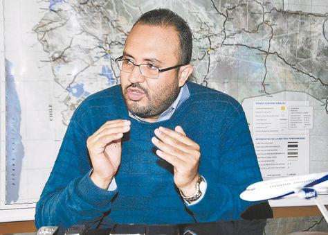 Resultado de imagen de El ministro de Obras Públicas, Servicios y Vivienda, Milton Claros,
